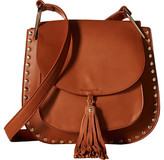 Gabriella Rocha Rosalina Saddle Purse with Tassel