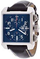 Fortis 'Square Chrono' analog watch