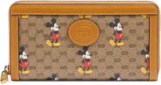 Gucci Disney x zip around wallet