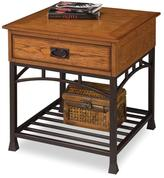 Home Styles Modern Craftsman End Table - Oak