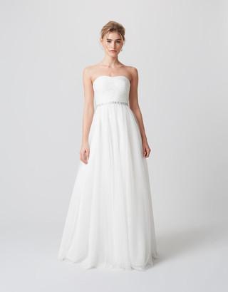 Under Armour Klara Embellished Bridal Dress Ivory