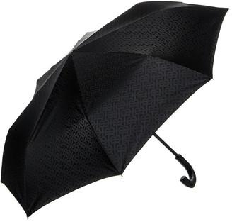 Burberry Monogram Print Folding Umbrella
