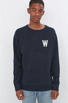 Wemoto Wade Navy Crewneck Sweatshirt