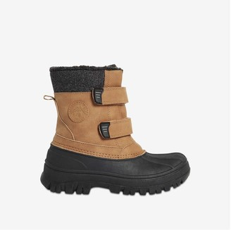 Joe Fresh Kid Boys' Snow Boots, Black (Size 5)