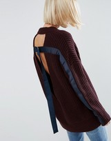 Asos Sweater With Cut Out Back