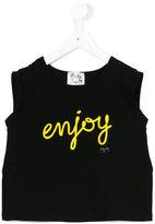 Loredana - printed sleeveless crop top - kids - Cotton/Spandex/Elastane - 10 yrs