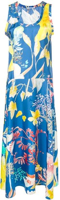 Agnona floral print dress