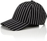 Rag & Bone Men's Pinstriped Wool-Cotton Baseball Cap