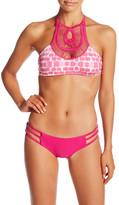 Bettinis Crochet Reversible Halter Bikini Top