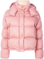 Moncler classic padded jacket - women - Cotton/Feather Down/Polyamide/Feather - 2