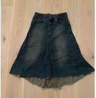 DKNY Blue Denim - Jeans Skirt for Women