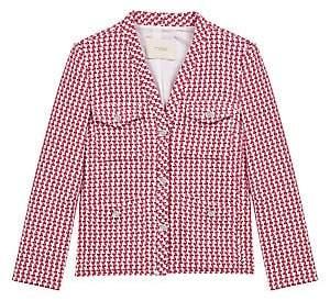Maje Women's Vyza Tweed Jacket