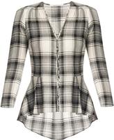 Veronica Beard Pismo Plaid Shirt