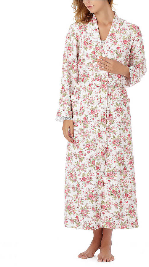 Midnight by Carole Hochman Rose Cottage Long Robe