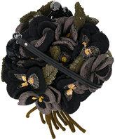 Jamin Puech 3D sequinned floral motif bag