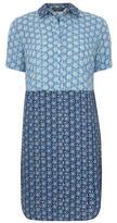 Dorothy Perkins Two tone shirt dress