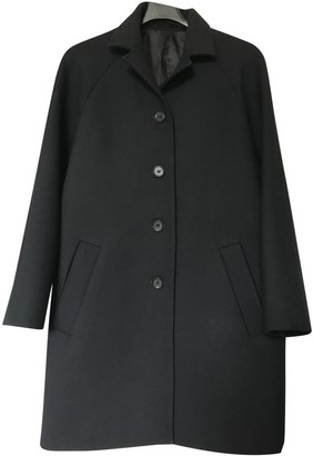 Cos Blue Wool Coat for Women