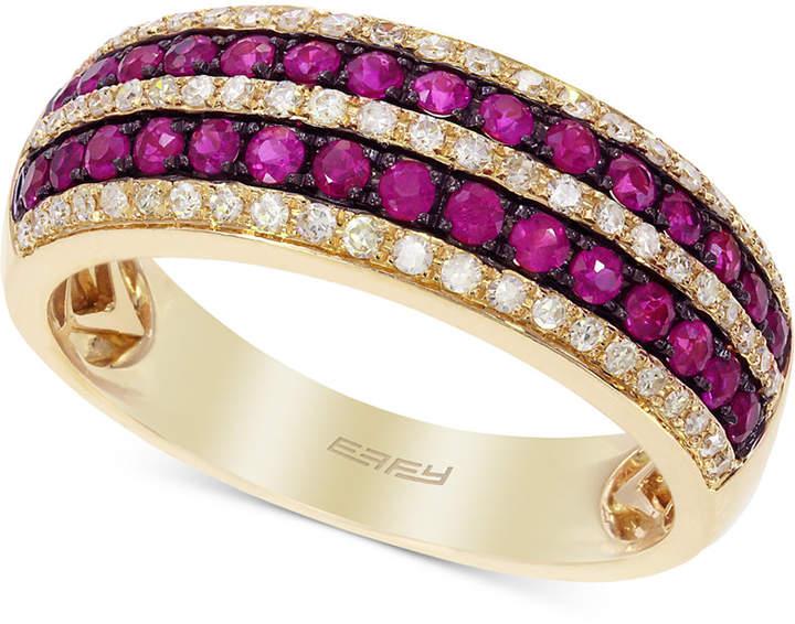 Effy Ruby (3/8 ct. t.w.) & Diamond (1/4 ct. t.w.) Ring in 14k Gold