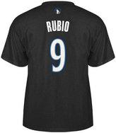 adidas Men's Minnesota Timberwolves Ricky Rubio Player T-Shirt