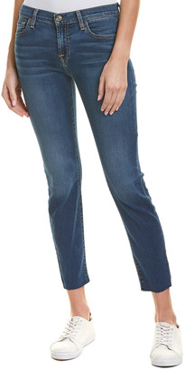Seven For All Mankind 7 For All Mankind Roxanne Bright Bristol Ankle Cut