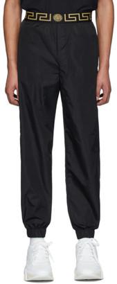 Versace Underwear Black Medusa Track Pants