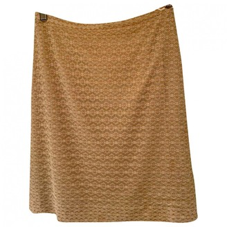 Tocca Beige Synthetic Skirts
