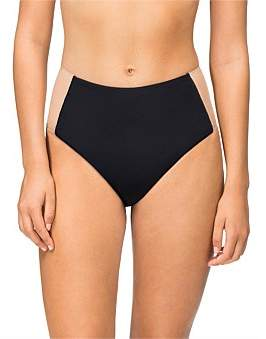 Calvin Klein Black Illusion High Waist Bikini