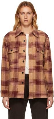 Isabel Marant Etoile Brushed Wool Check Jacket