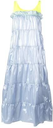 Sandy Liang Pianos tiered midi dress
