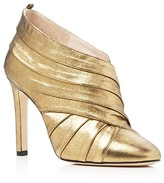 Sarah Jessica Parker Echo Metallic High Heel Booties