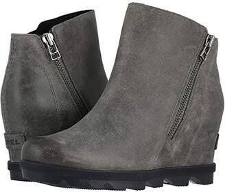 Sorel Joan of Arctic Wedge II Zip (Quarry) Women's Boots
