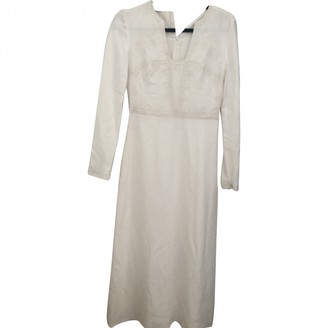 Vilshenko White Viscose Dresses
