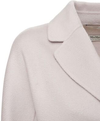 S Max Mara Belted Virgin Wool & Cashmere Coat