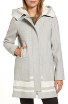 Vince Camuto Women's Hooded Car Coat