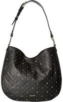 Calvin Klein Erica Pebble Embelished Hobo Hobo Handbags