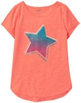 Crazy 8 Neon Star Active Tee