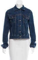 Preen Line Embroidered Denim Jacket
