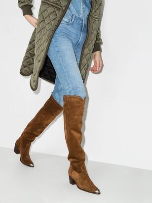 Polo Ralph Lauren knee-high Western boots