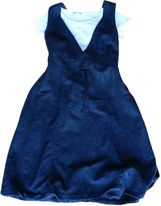 Max & Co. Black Linen Dress for Women Vintage