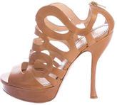 Jerome C. Rousseau Cage Platform Sandals