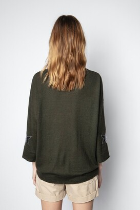 Zadig & Voltaire Flint Patch Cachemire Sweater
