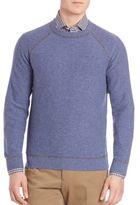 Luciano Barbera Cashmere Raglan Sleeve Sweater