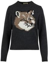 MAISON KITSUNÉ Woollen Fox sweatshirt
