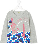 Kenzo long sleeve printed T-shirt
