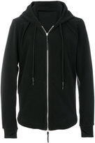 11 By Boris Bidjan Saberi long sleeved zipped hoodie