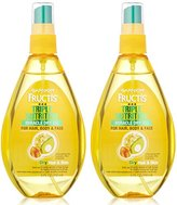 Garnier Fructis Triple Nutrition Miracle Dry Oil for Hair, Face, and Body, 5 Fluid Ounce (Pack of 2)