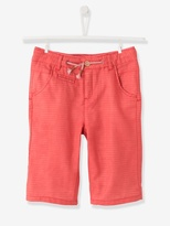 Boys Bermuda Shorts - raspberry, Boys | Vertbaudet