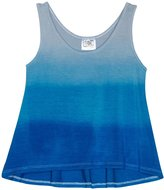 Erge Dip Dye Tank (Toddler/Kid) - Silver/Royal-5