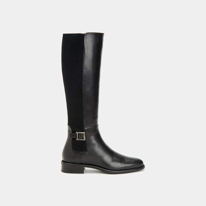 Aquatalia Noella Nappa Leather Knee High Boot