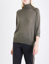 Brunello Cucinelli Turtleneck cashmere and silk-blend jumper